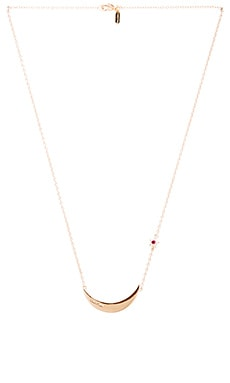 Elizabeth and James Luna Necklace in Yellow Gold