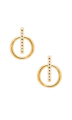 Elizabeth and James Leo Ear Jacket in Yellow Gold