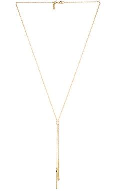Elizabeth and James Leda Lariat Necklace in Yellow Gold