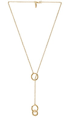 Elizabeth and James Neko Necklace in Yellow Gold