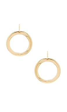 Avila Earrings in Yellow Gold