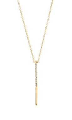 Elizabeth and James Logan Pendant Necklace in White Topaz