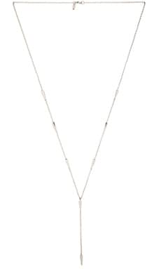 Elizabeth and James Miro Lariat in Silver