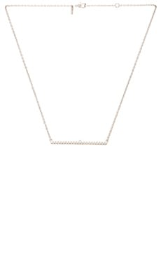 Elizabeth and James Delgado Necklace in Silver