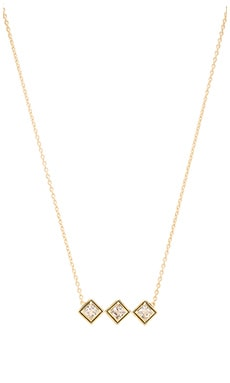 Elizabeth and James Truitt Pendant Necklace in Black & Gold