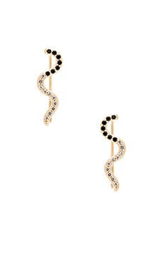 Elizabeth and James Livi Ear Cuff in Yellow Gold