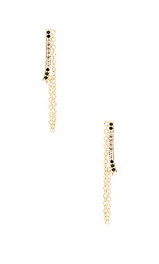Elizabeth and James Ando Ear Cuff in Yellow Gold