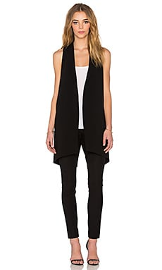 Elizabeth and James Neema Vest in Black