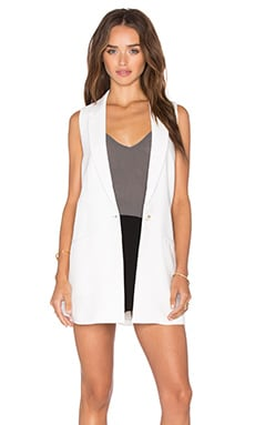 Elizabeth and James Garnet Vest in Ivory