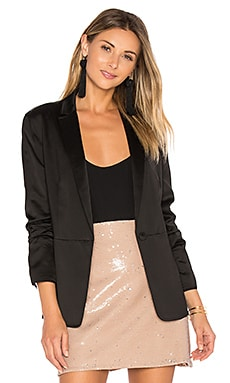 Lainey Blazer in Black