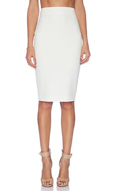 Elizabeth and James Solid Aisling Skirt in Ivory