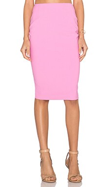 Elizabeth and James Breannan Skirt in Bright Magenta