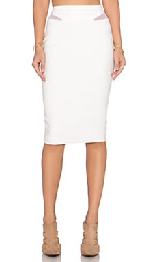 Elizabeth and James Otto Skirt in Ivory