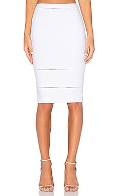 Wheeler Skirt in Ivory