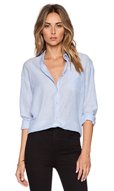 Elizabeth and James Carine Shirt in Menswear Blue