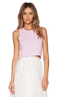 Elizabeth and James Fitted Tank in Tulip Pink