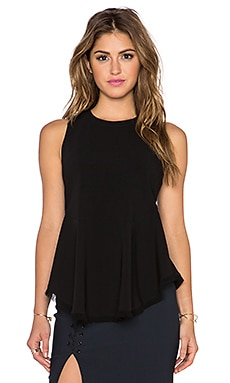 Elizabeth and James Merlyn Top in Black