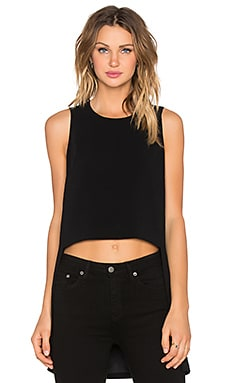 Elizabeth and James Lela Top in Black