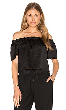 Elizabeth and James Lyla Top in Black