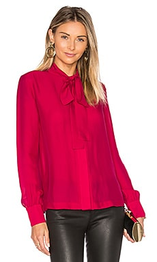 Elizabeth and James Winnie Blouse in Cardinal