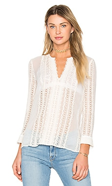 Riley Blouse in Ivory