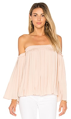 Emelyn Pleated Top