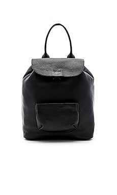 Langley Backpack in Schwarz