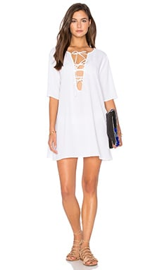 EASTNWEST Hazel Dress in White