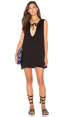 EASTNWEST Cora Dress in Black