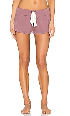 eberjey Heather Shorts in Woodrose