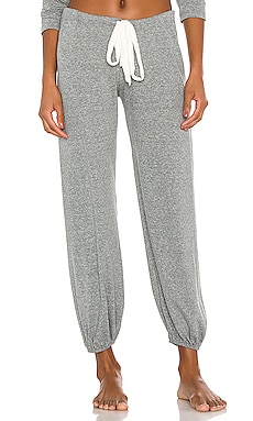Heather Pant en Gris Chiné