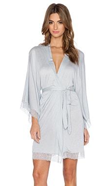 eberjey Carina Lace Kimono Robe in Dusk