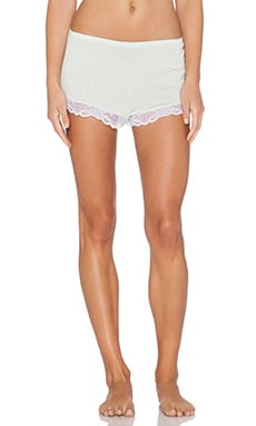 eberjey Paloma Short in Beach Glass & White