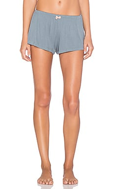eberjey Michaela Shorts in Smoked Blue