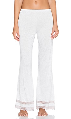 eberjey Georgette Classic Pant in Marble & Rose