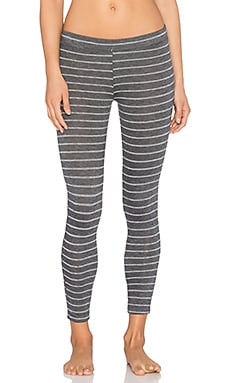 eberjeJ Ticking Stripes Legging in Thunderstorm
