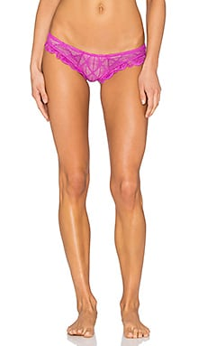 eberjey Weekend Lovers Lace Bikini in Berry Glow