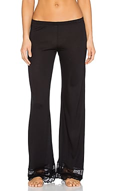 eberjey Georgette Classic Pant in Black
