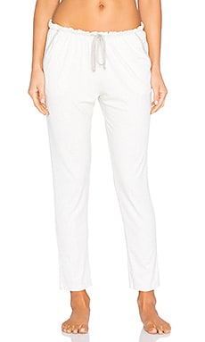 eberjey Darby Slim Pant in Oatmeal Grain