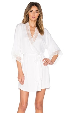 Magnolia Short Robe