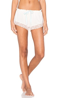 eberjey Piper Shorts in Pearl Pink & Mint Powder