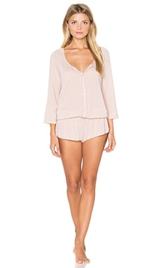 eberjey Afternoon Delight Teddy in Sedona Blush
