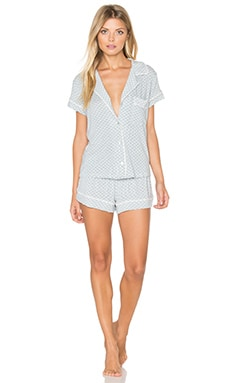 Cabana Girl PJ Set in Chambray