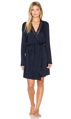 eberjey Penelope Robe in Moonlit Blue
