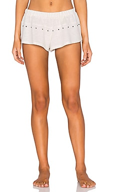 Lexie Short in Peppered Cream