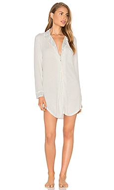 eberjey Stargazing Sleepshirt in Lunar Grey