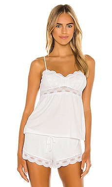 eberjey India Cami in White