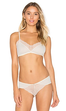 Malou Bralet in Bone & Frosted Cream