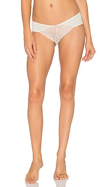 Malou Brief in Bone & Frosted Cream