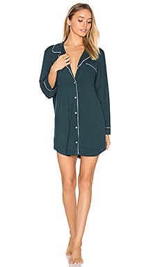 Gisele Sleepshirt in Evergreen